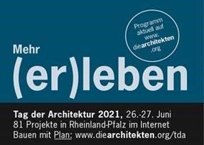 Erneut dabei und nochmal vorgeführt - beim Tag der Architektur 2021