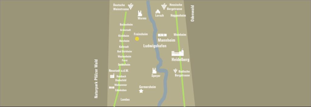 Freinsheim Lage Region